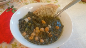 Kale and Chick Pea Soup