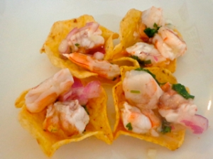 Shrimp Ceviche Cups