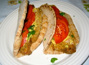 Venetia's Schnitzel Sandwich